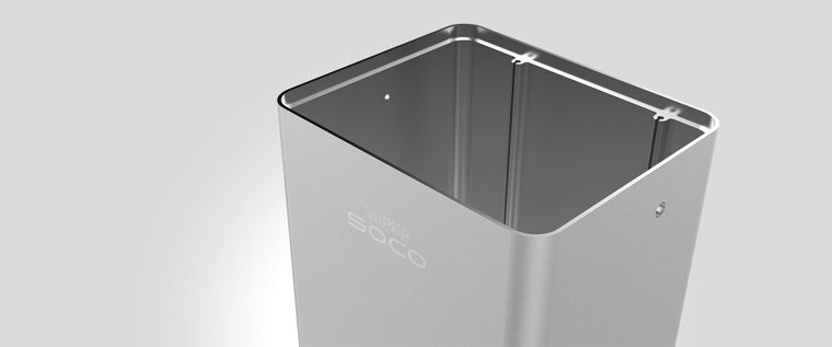 Super SOCO TS battery housing